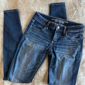 American Eagle Superlow Rise Jeggings